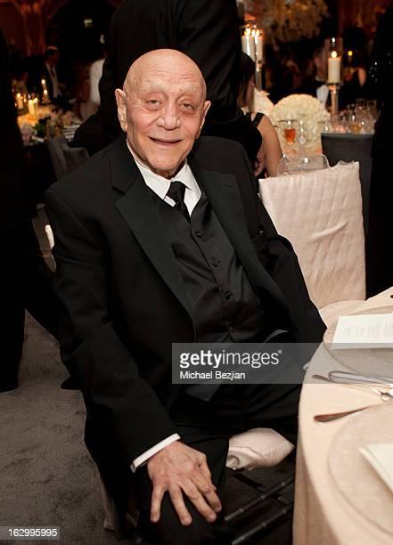 Coach Jerry Tarkanian attends Fletcher Jones III And Dalene Kurtis Weddingat Beverly Hills Hotel on March 2 2013 in Beverly Hills California