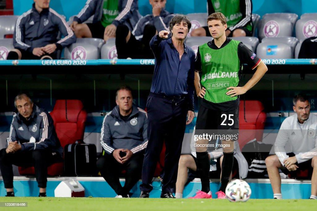 Germany v Hungary : News Photo
