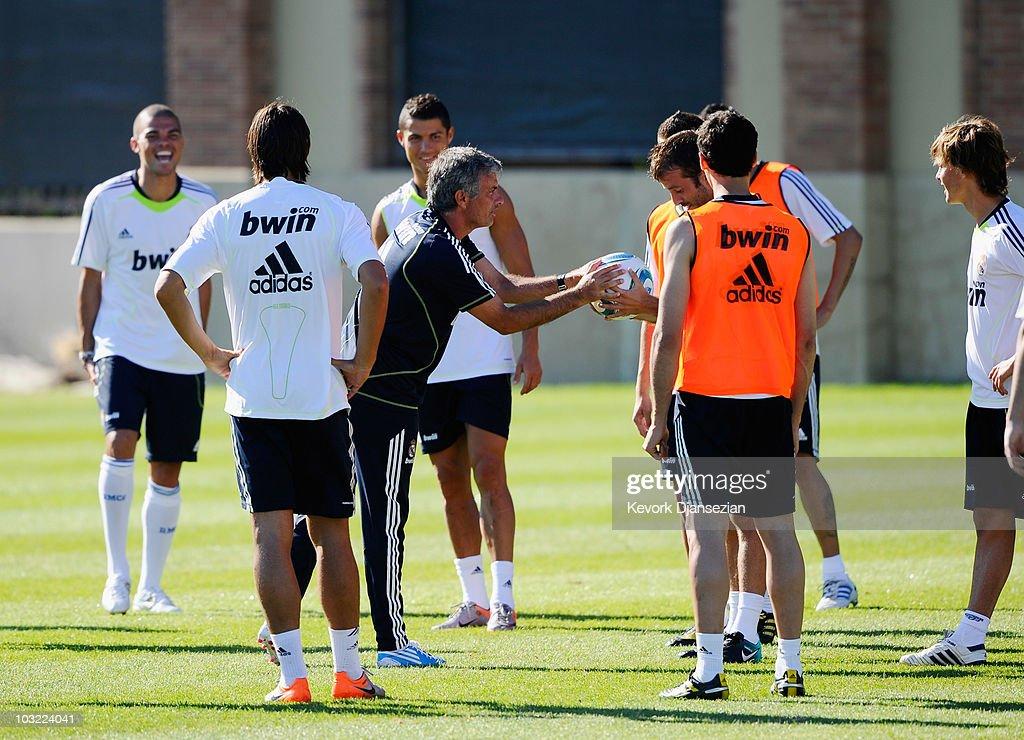 Real Madrid Pre-Season Training Session : News Photo