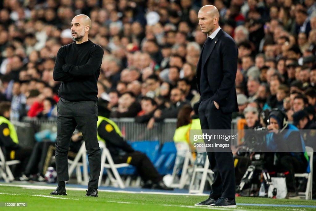 Real Madrid v Manchester City - UEFA Champions League : News Photo