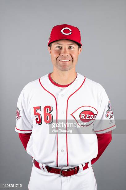 Coach JR House of the Cincinnati Reds poses during Photo Day on Tuesday February 19 2019 at Goodyear Ballpark in Goodyear Arizona