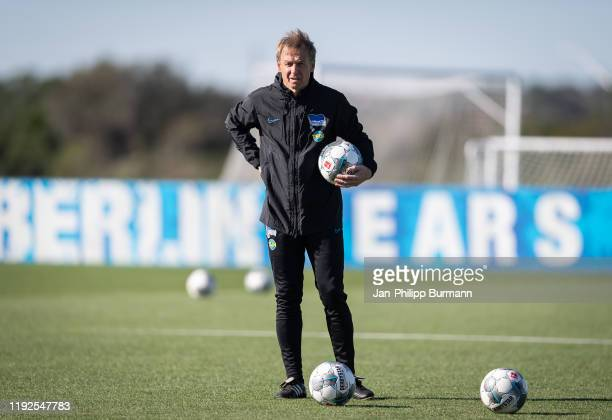 coach Juergen Klinsmann of Hertha BSC during training session on January 8 2020 in Orlando Florida