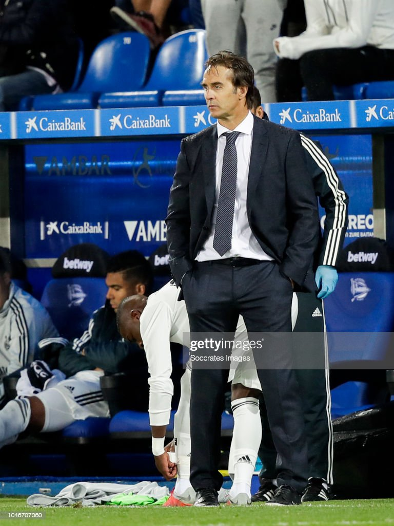 Deportivo Alaves v Real Madrid - La Liga Santander : News Photo