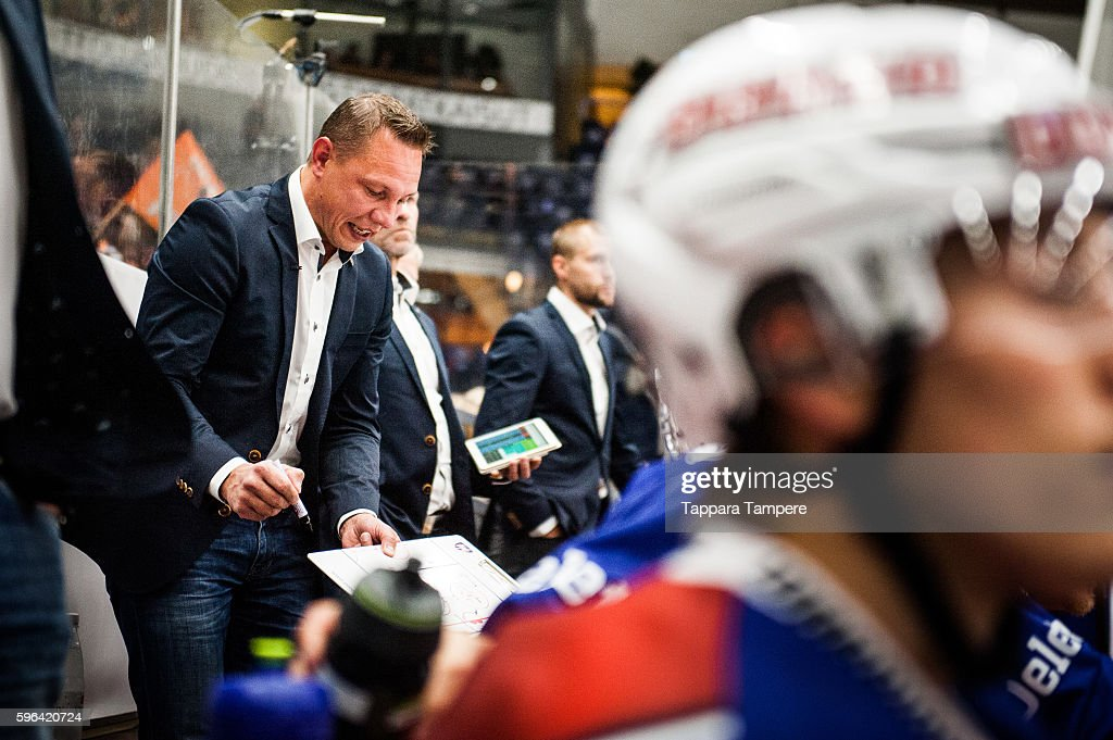 Tappara Tampere v HC Lugano - Champions Hockey League : News Photo