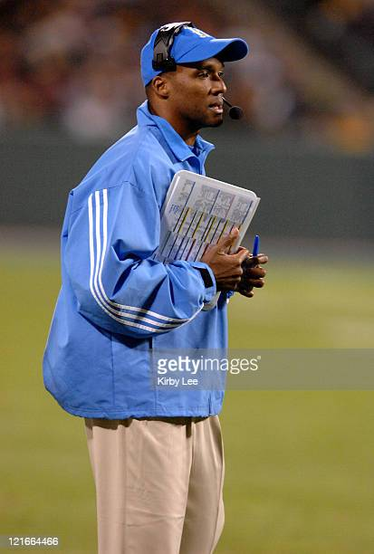 UCLA coach Karl Dorrell watches from the sidelines during 4427 victory loss to Florida State in the Emerald Bowl in San Francisco Calif on Wednesday...