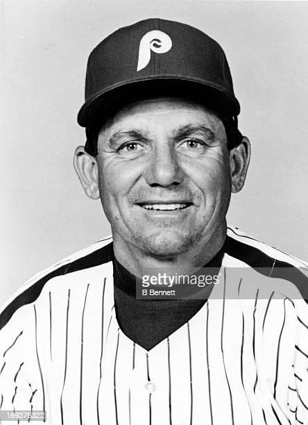 Coach Larry Bowa of the Philadelphia Phillies poses for a portrait in 1989 in Philadelphia Pennsylvania