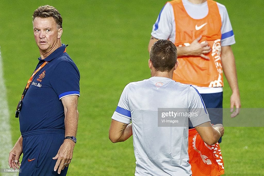 World Cup qualifier - Netherlands Training Session : News Photo