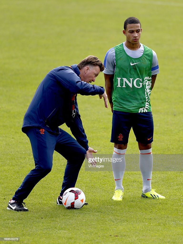 FIFA 2014 World Cup Qualifier - Netherlands Training Session : News Photo