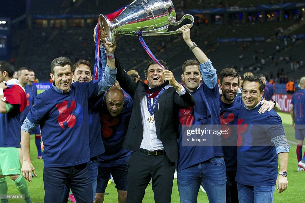 "Champions League final - ""Barcelona v Juventus"" : News Photo"