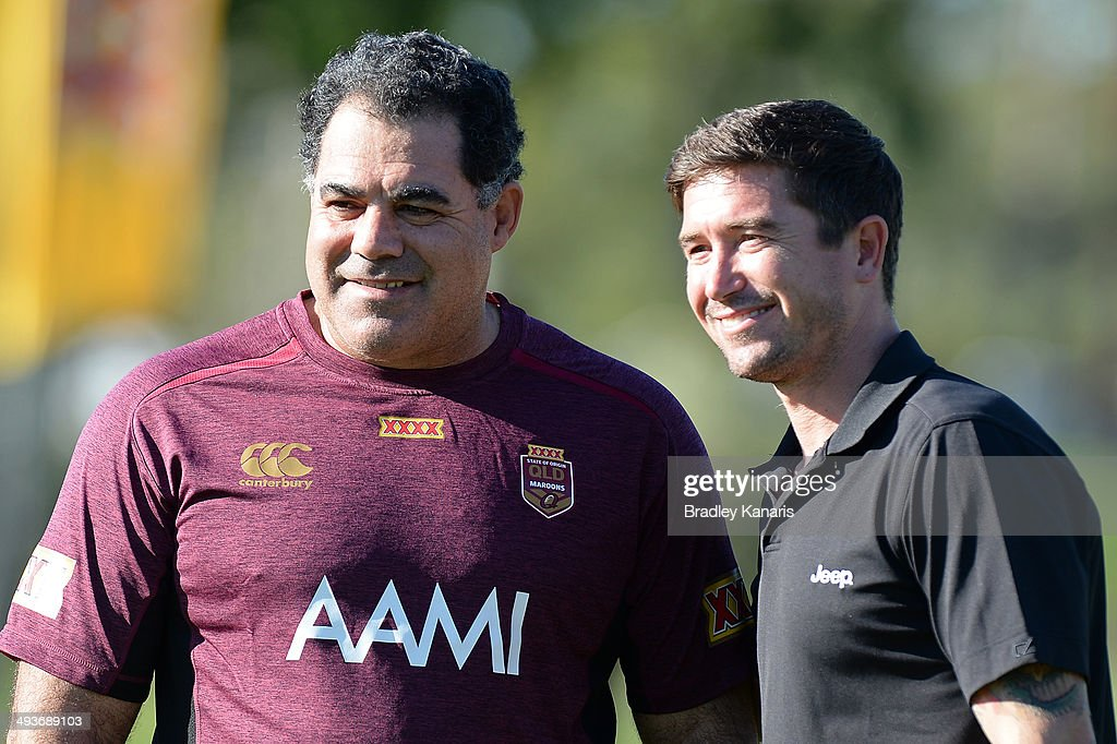 Queensland State of Origin Training Session