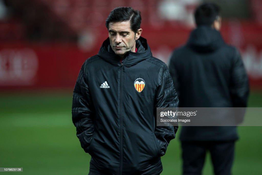Sporting Gijon v Valencia - Spanish Copa del Rey : News Photo