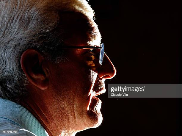 Coach Marcello Lippi of Italy during the press conference on August 10 2009 in Coverciano Italy