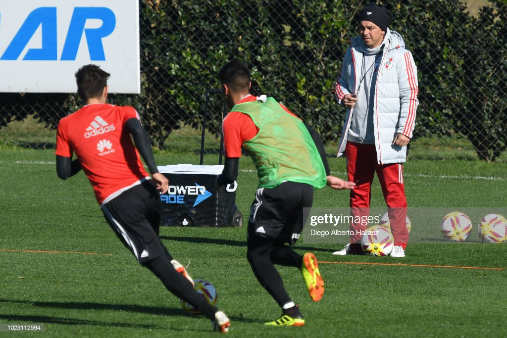 River Plate Training Session