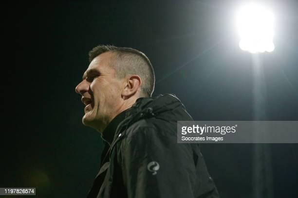 Coach Marinus Dijkhuizen of Excelsior Rotterdam during the Dutch Keuken Kampioen Divisie match between Excelsior v NAC Breda at the Van Donge & De...