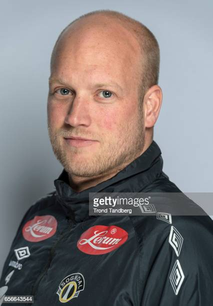 Coach Marius Lenni Boe of Team Sogndal Fotball during Photocall on March 22 2017 in Sogndal Norway