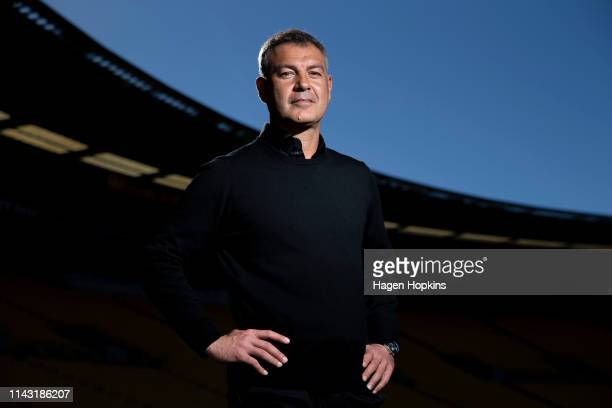 Coach Mark Rudan of the Phoenix poses at Westpac Stadium on April 17 2019 in Wellington New Zealand