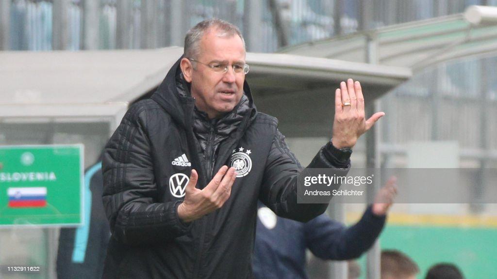 DEU: Germany U17 v Slovenia U17 - UEFA Elite Round