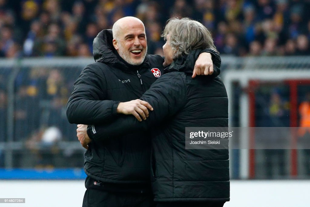 Eintracht Braunschweig v 1. FC Kaiserslautern - Second Bundesliga : News Photo