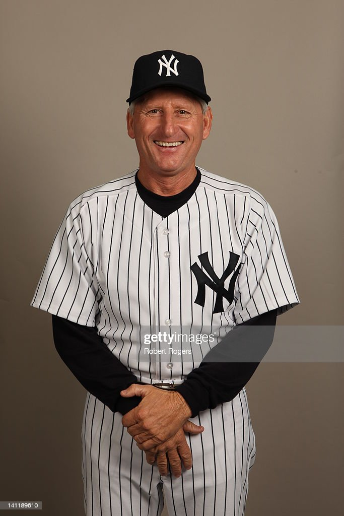 Coach Mick Kelleher (50) of the New York Yankees poses during Photo Day on Monday, February 27, 2012 at George M. Steinbrenner Field in Tampa, Florida.