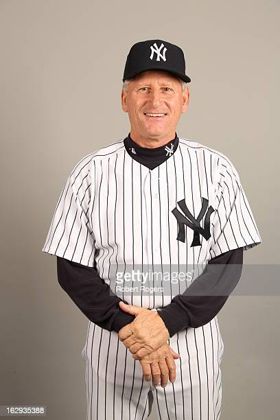 Coach Mick Kelleher of the New York Yankees poses during Photo Day on February 20 2013 at George M Steinbrenner Field in Tampa Florida