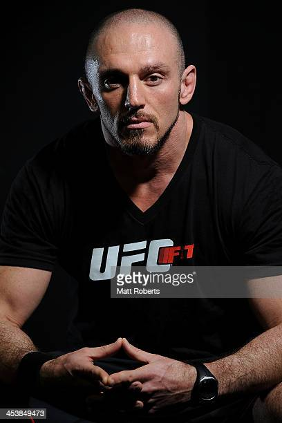 Coach Mike Dolce poses for a photograph after the UFC Brisbane FIT Master Class on December 6, 2013 in Brisbane, Australia.