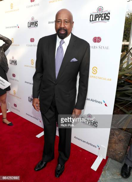 NBA coach Mike Woodson attends 32nd Annual CedarsSinai Sports Spectacular at W Los Angeles Westwood on April 3 2017 in Los Angeles California