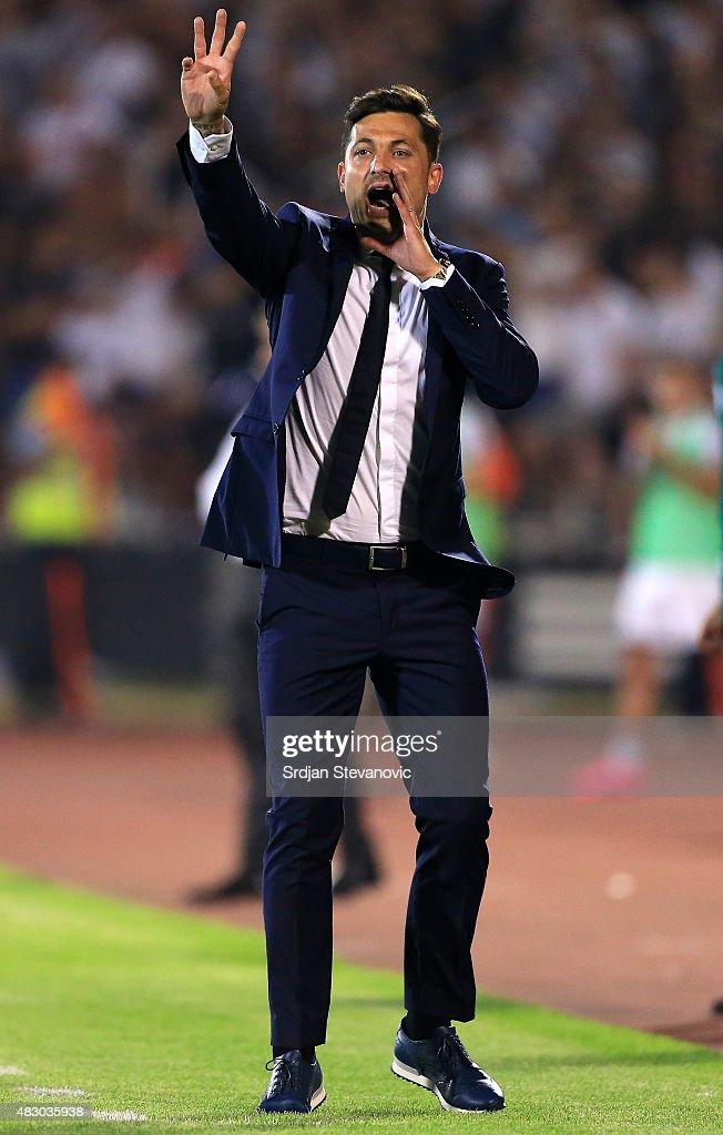 FK Partizan v Steau Bucharest - UEFA Champions League: Third Qualifying Round 2nd Leg