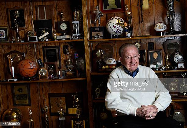 Coach Morgan Wootten led the DeMatha High School Stags during 1965 game in which DeMatha upset New York City's Power Memorial and Kareem Abdul Jabber...