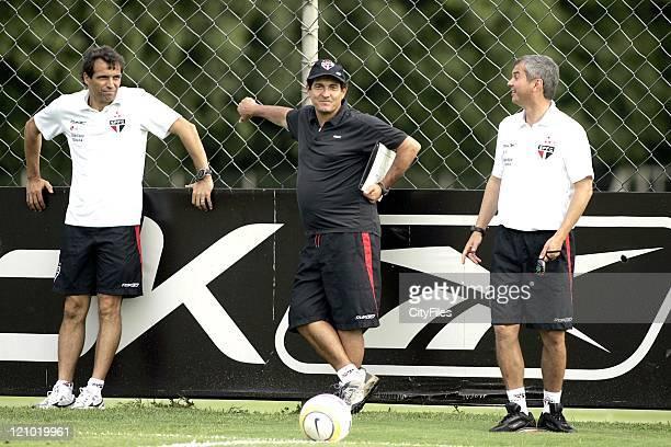Coach Muricy Ramalho of the new Brazilian champions FC Sao Paulo.