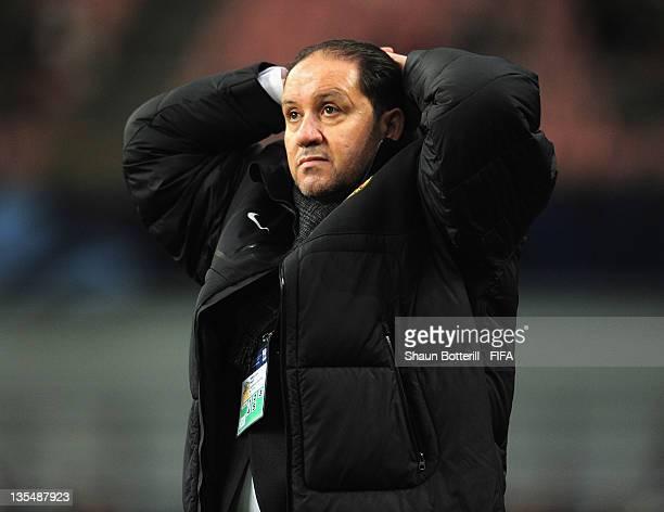 Coach Nabil Maaloul of Esperance Sportive De Tunis during the FIFA Club World Cup Quarter Final match between Esperance Sportive De Tunis and AlSadd...