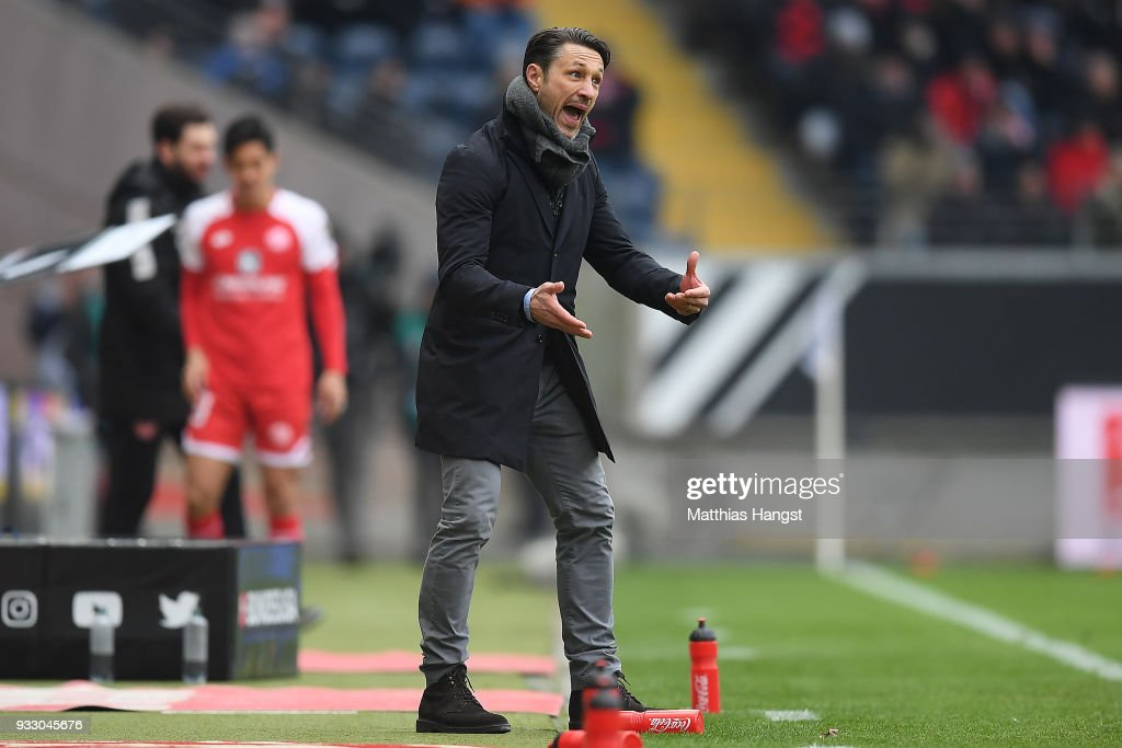 Eintracht Frankfurt v 1. FSV Mainz 05 - Bundesliga : News Photo