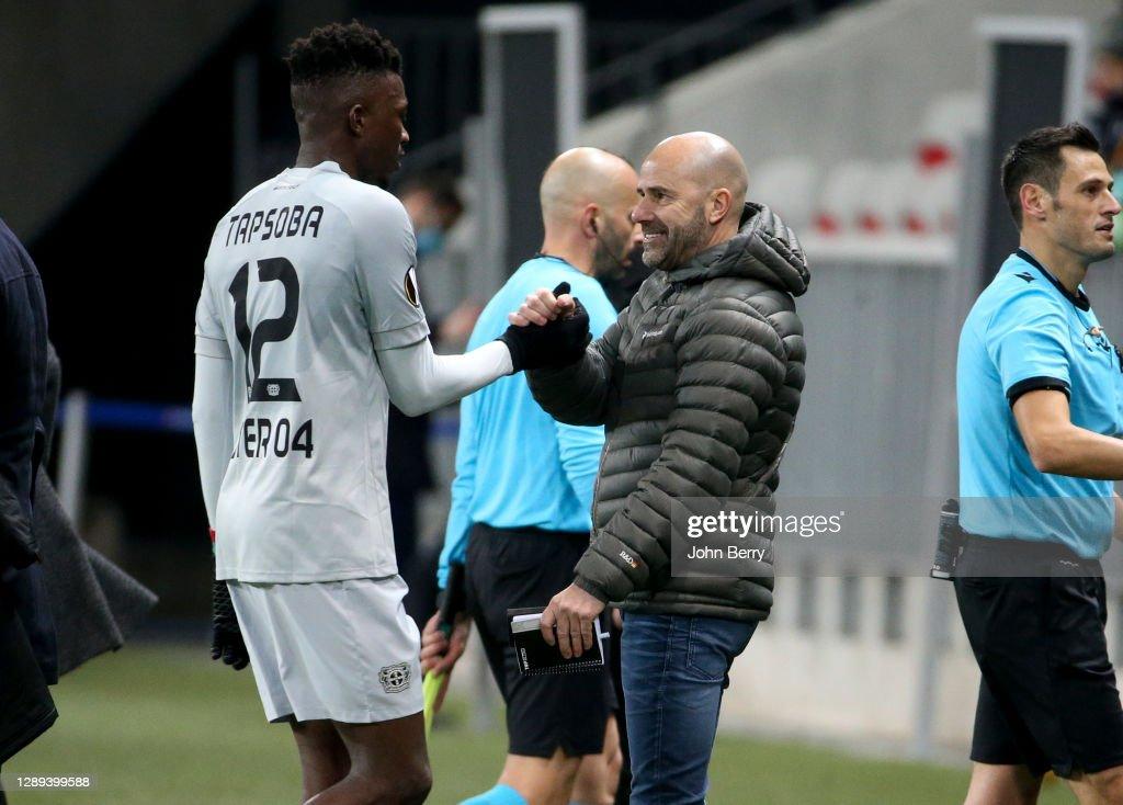 OGC Nice v Bayer 04 Leverkusen: Group C - UEFA Europa League : News Photo