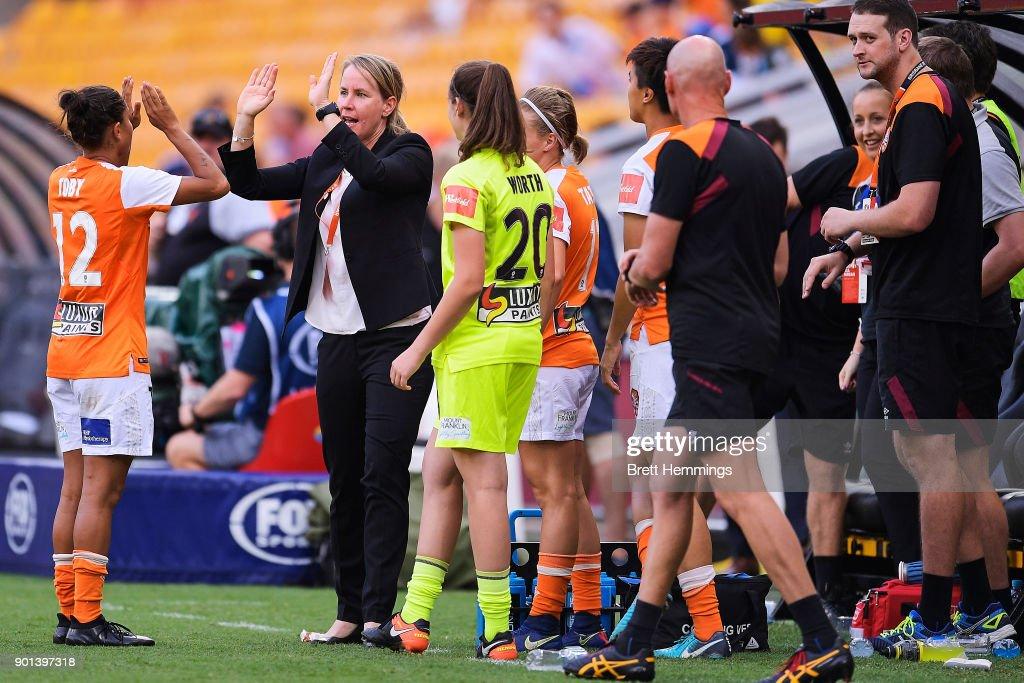 W-League Rd 10 - Brisbane v Melbourne : News Photo