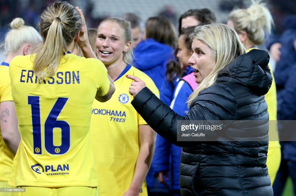 Paris Saint-Germain Women v Chelsea Women - UEFA Women's Champions League: Quarter Final Second Leg : News Photo