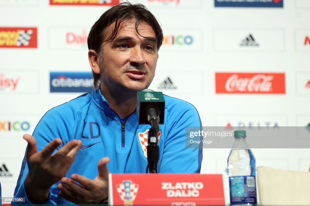 Croatia Press Conference and Training Session