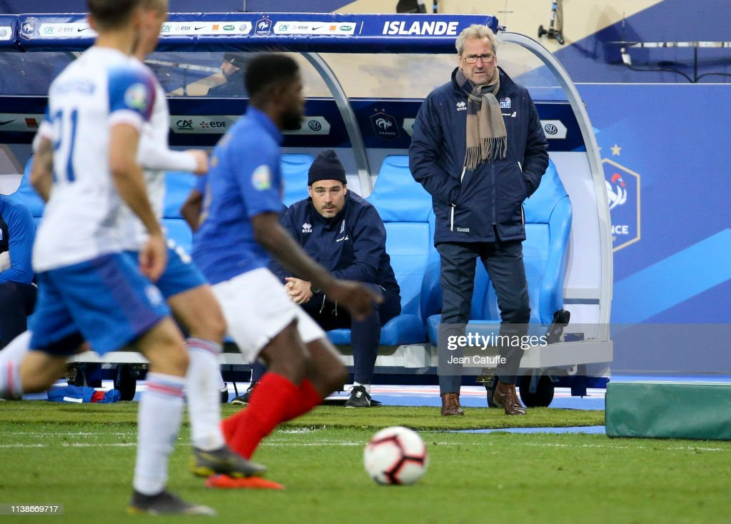 France v Iceland - UEFA EURO 2020 Qualifier : News Photo