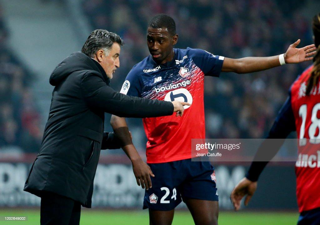Lille OSC v Paris Saint-Germain - Ligue 1 : ニュース写真