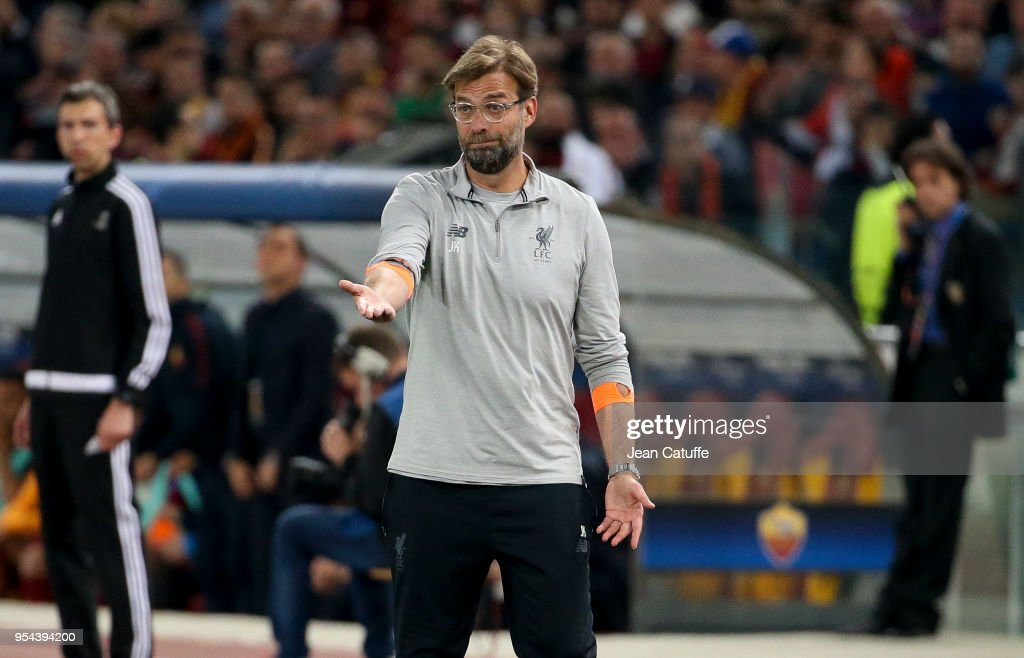 A.S. Roma v Liverpool - UEFA Champions League Semi Final Second Leg : News Photo