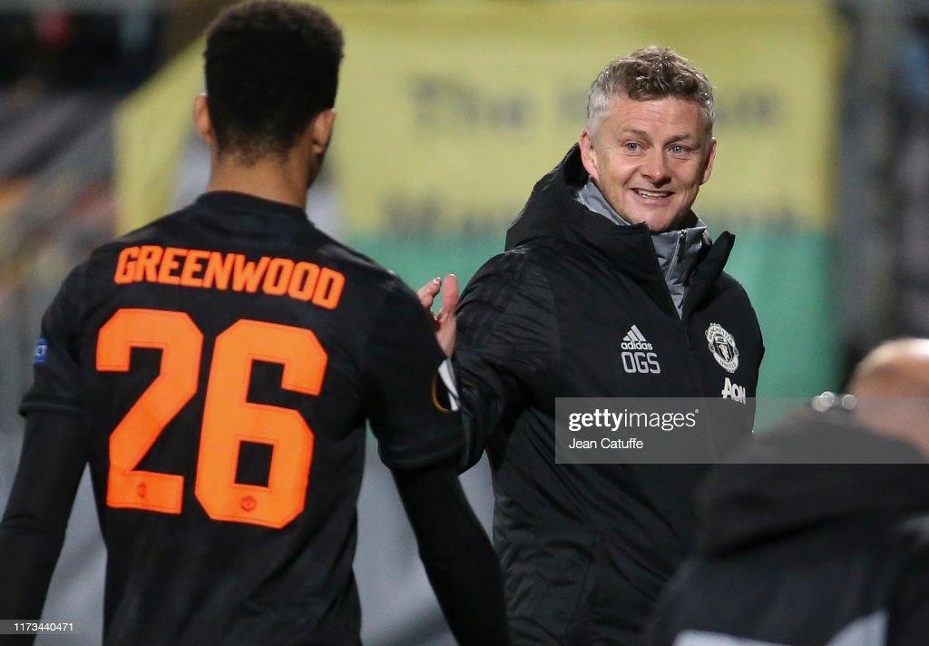 AZ Alkmaar v Manchester United: Group L - UEFA Europa League : News Photo