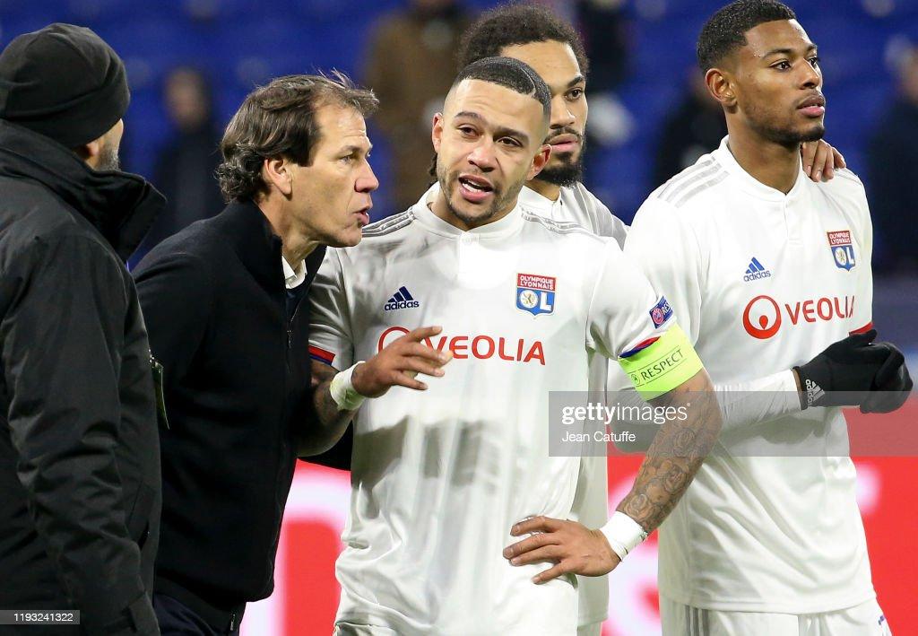 Olympique Lyonnais v RB Leipzig: Group G - UEFA Champions League : Fotografía de noticias