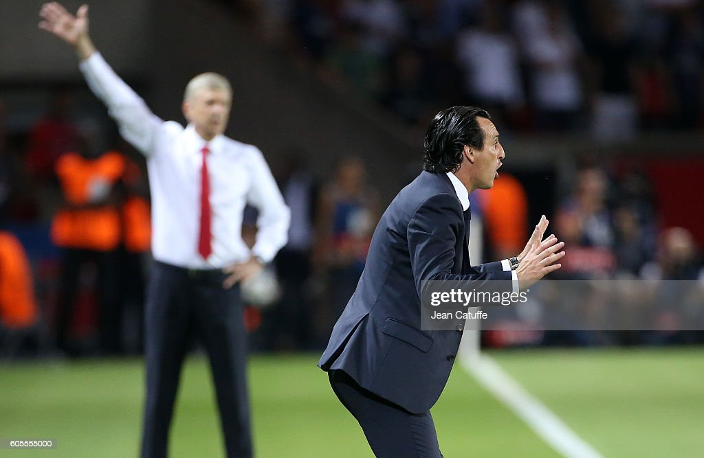 Paris Saint-Germain v Arsenal FC - UEFA Champions League : News Photo