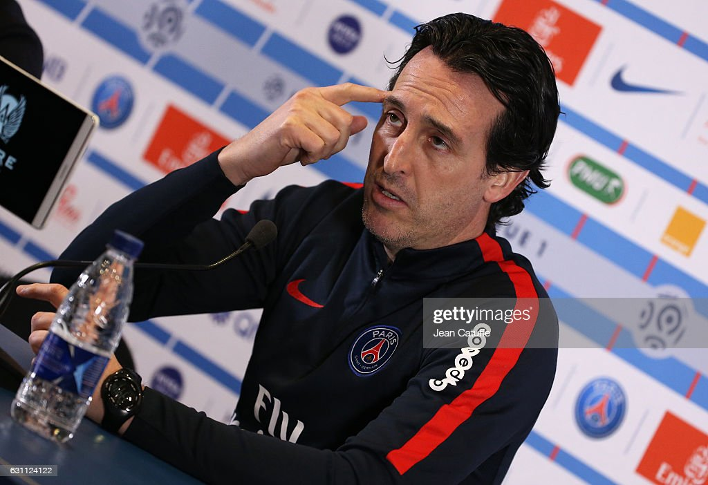 Press Conference and Training Session of Paris Saint Germain : News Photo