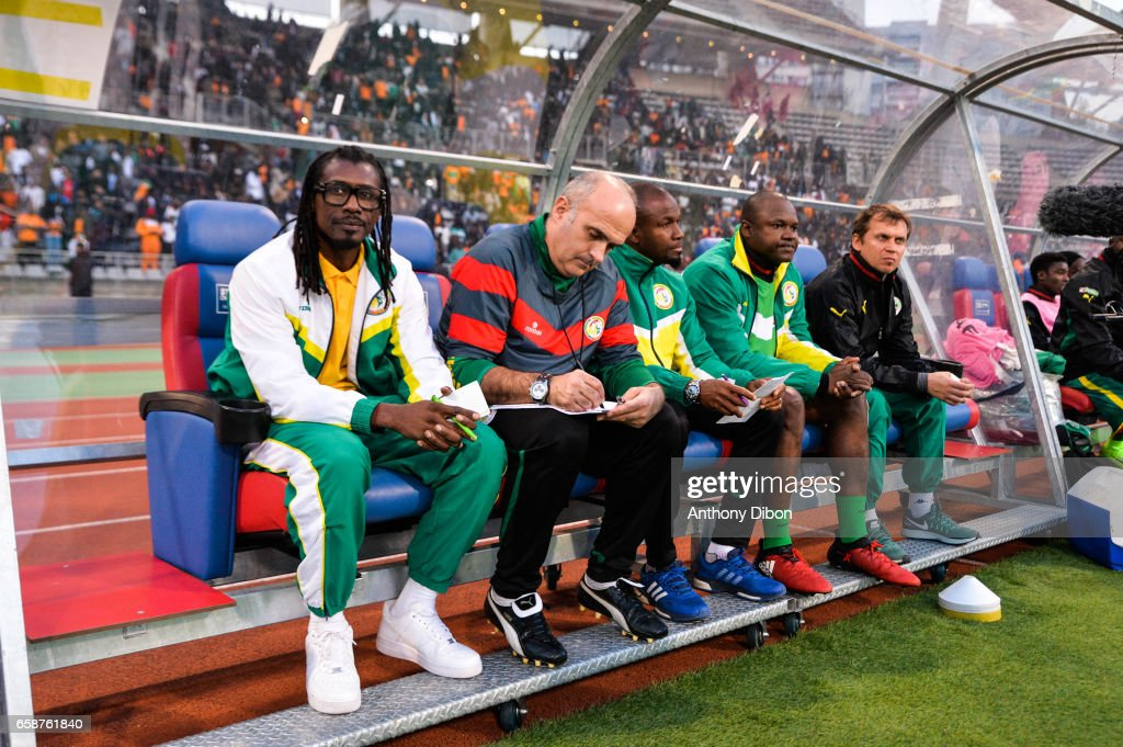 Senegal vs Ivory Coast - Friendly match : Nachrichtenfoto