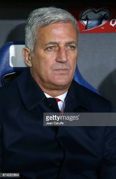Coach of Switzerland Vladimir Petkovic during the FIFA 2018 World Cup Qualifier PlayOff Second Leg between Switzerland and Northern Ireland at St...