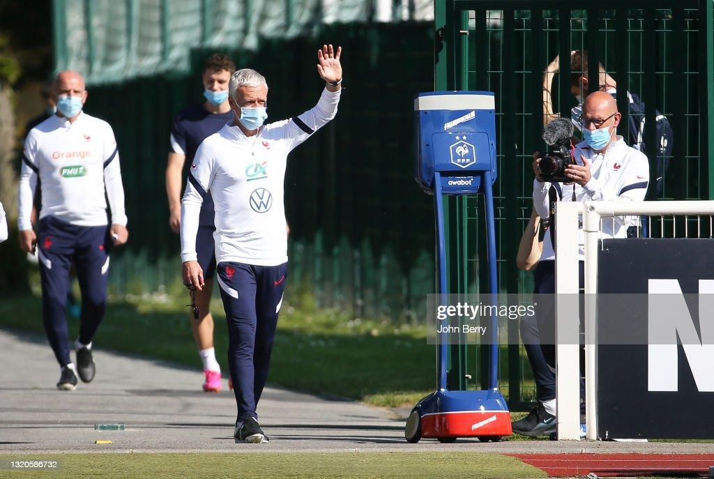 France Training Session : News Photo