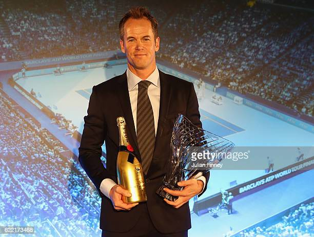 Coach of the Year is Magnus Norman at the Cutty Sark on November 10 2016 in London England