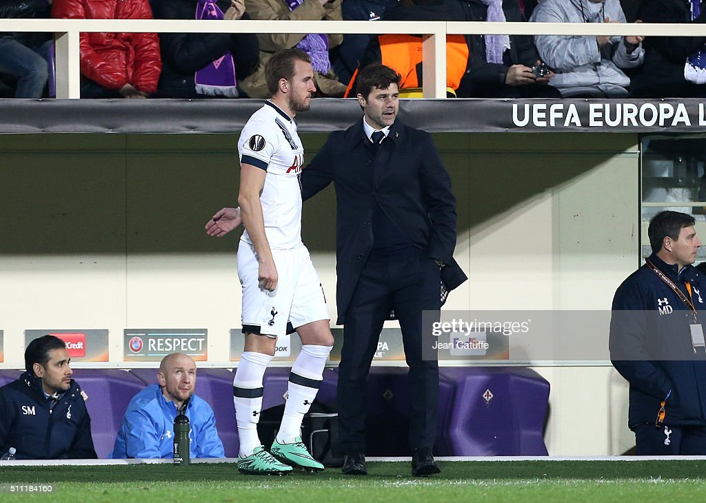 Fiorentina v Tottenham Hotspur - UEFA Europa League Round of 32: First Leg : News Photo