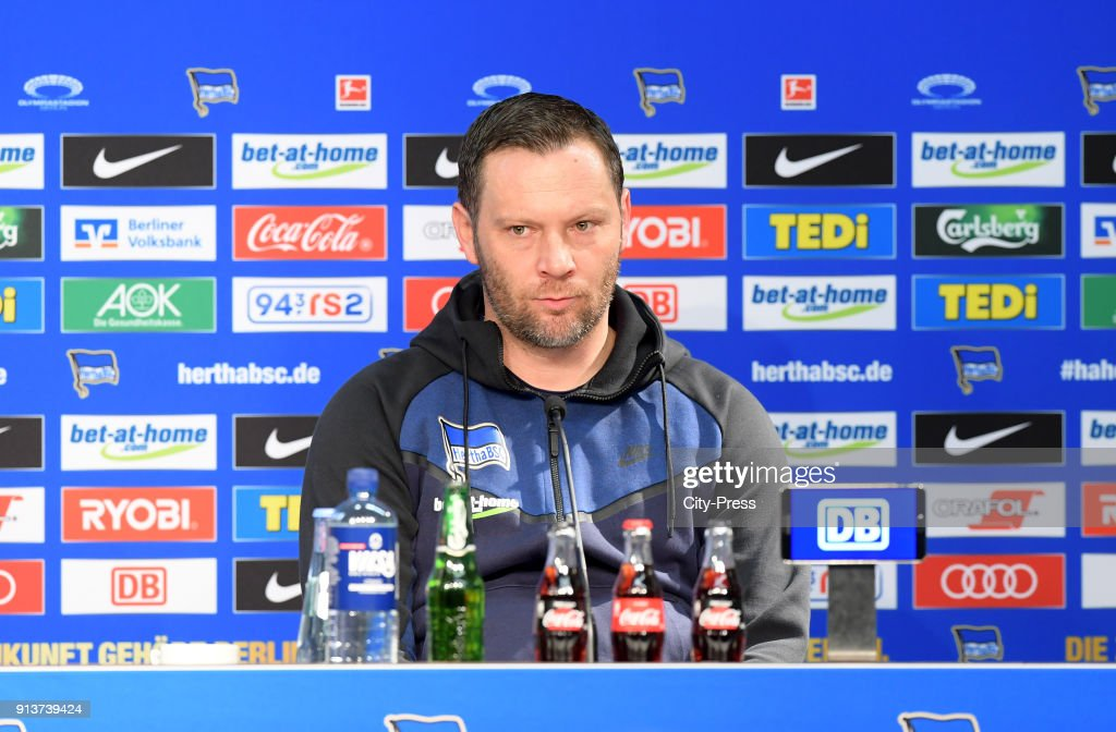 coach Pal Dardai of Hertha BSC after the game between Hertha BSC and TSG Hoffenheim on february 3, 2018 in Berlin, Germany.