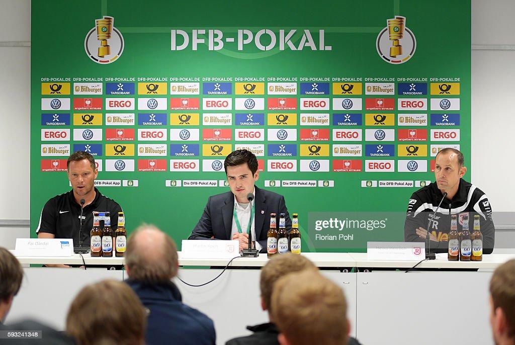 SSV Jahn Regensburg v Hertha BSC - DFB Pokal
