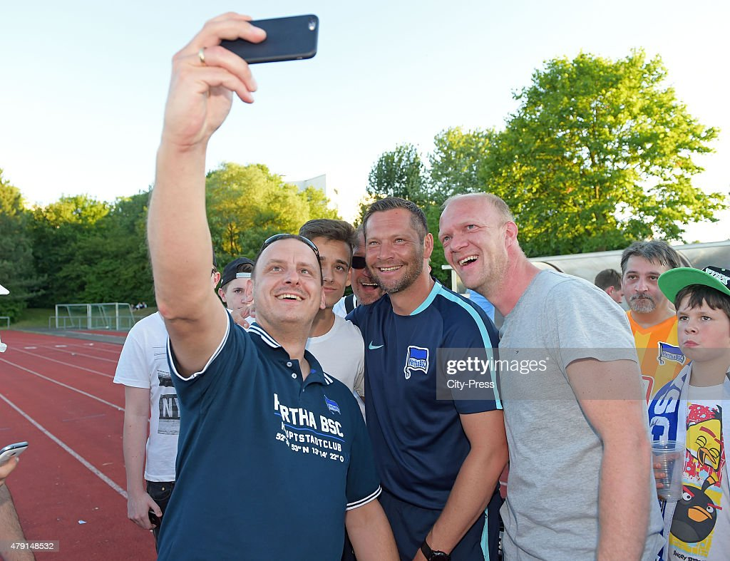 1. FC Luebars v Hertha BSC - friendly match